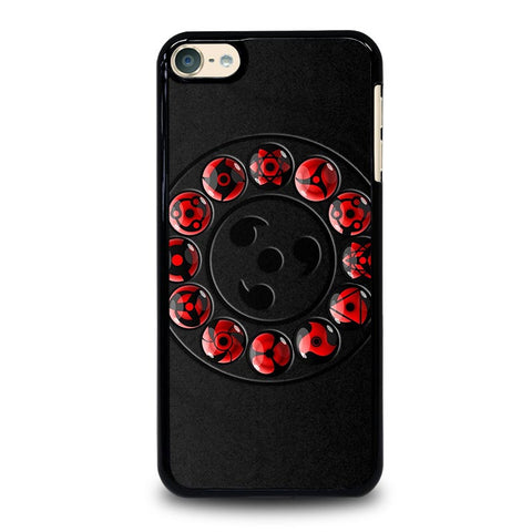 NARUTO SHARINGAN ICON iPod Touch 4 5 6 Generation 4th 5th 6th Case - Best Custom iPod Cover Design