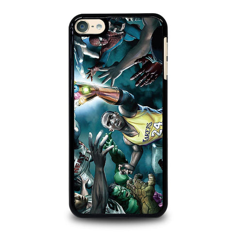NBA KOBE BRYANTS MARVEL HEROES iPod Touch 4 5 6 Generation 4th 5th 6th Case - Best Custom iPod Cover Design