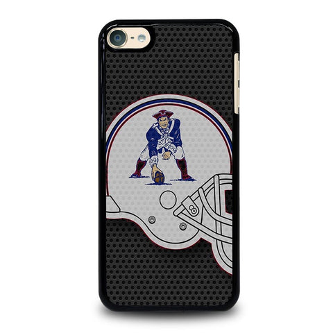 NEW ENGLAND PATRIOTS  LOGO HELMET iPod Touch 4 5 6 Generation 4th 5th 6th Case - Best Custom iPod Cover Design