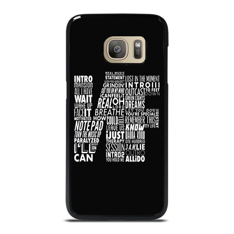 NF WORD COLLABORATION LOGO Samsung Galaxy S7 Case