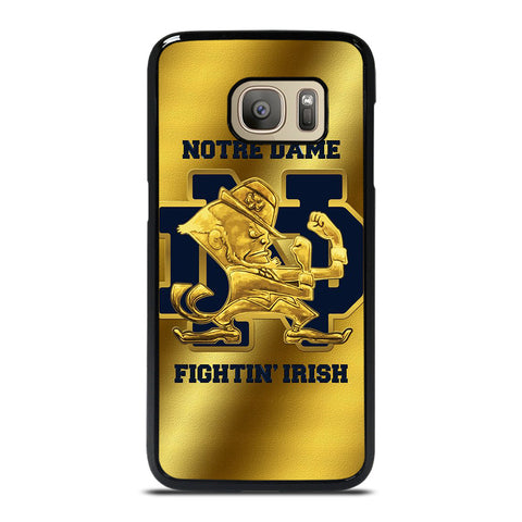 NOTRE DAME FIGHTING IRISH GOLD Samsung Galaxy S7 Case
