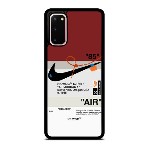 OFF WHITE NIKE AIR JORDAN Samsung Galaxy S20 Case