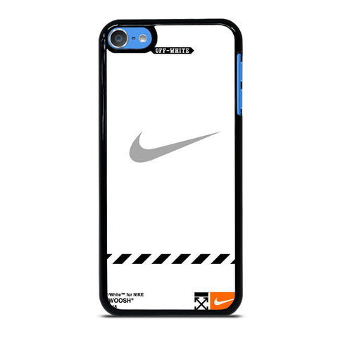 OFF WHITE X NIKE GREY LOGO iPod Touch 7 Case