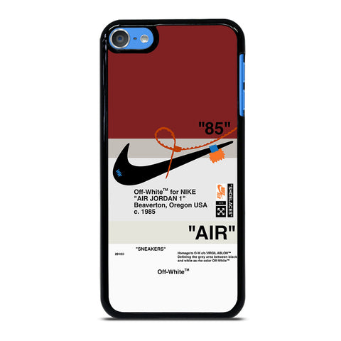 OFF WHITE NIKE AIR JORDAN iPod Touch 7 - Custom iPod 7th Gen Cover personalized Design