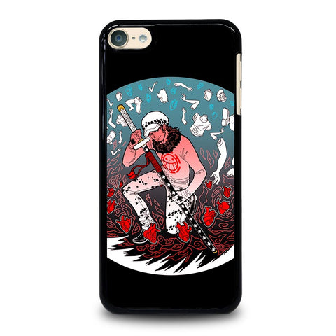 ONE PIECE TRAFALGAR D WATEL LAW iPod Touch 4 5 6 Generation 4th 5th 6th Case - Best Custom iPod Cover Design