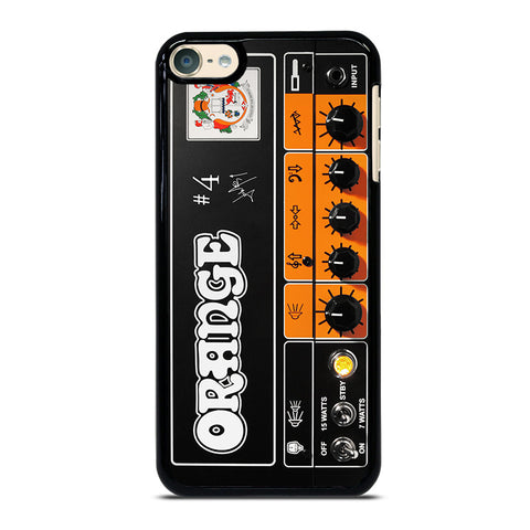 ORANGE GUITAR BASS AMP HEAD iPod Touch 4 5 6 Generation 4th 5th 6th Case - Best Custom iPod Cover Design