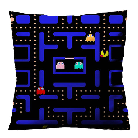 PAC MAN MAZE A Cushion Case Cover