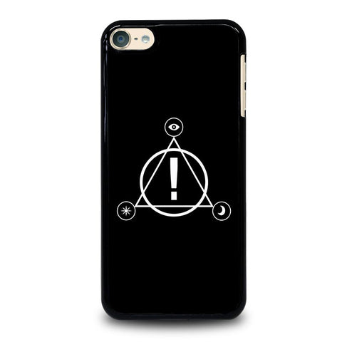 PANIC AT THE DISCO LOGO iPod Touch 4 5 6 Generation 4th 5th 6th Case - Best Custom iPod Cover Design