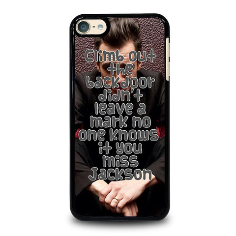 PANIC AT THE DISCO QUOTES MISS JACKSON iPod Touch 4 5 6 Generation 4th 5th 6th Case - Best Custom iPod Cover Design