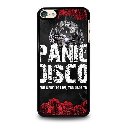 PANIC AT THE DISCO ROSE LIVE iPod Touch 4 5 6 Generation 4th 5th 6th Case - Best Custom iPod Cover Design