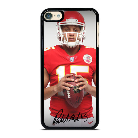 PATRICK MAHOMES KANSAS CITY CHIEFS iPod Touch 4 5 6 Generation 4th 5th 6th Case - Best Custom iPod Cover Design