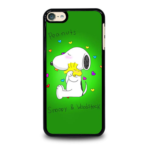 PEANUTS SNOOPY AND WOODSTOCK iPod Touch 4 5 6 Generation 4th 5th 6th Case - Best Custom iPod Cover Design
