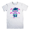 PINK DOLPHIN POSITIVITY-mens-t-shirt-White