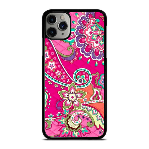 PINK SWIRLS VERA BRADLEY-iphone-11-pro-max-case