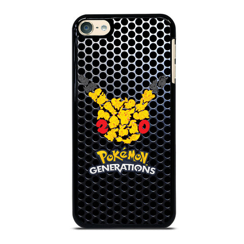 POKEMON HED iPod Touch 4 5 6 Generation 4th 5th 6th Case - Best Custom iPod Cover Design