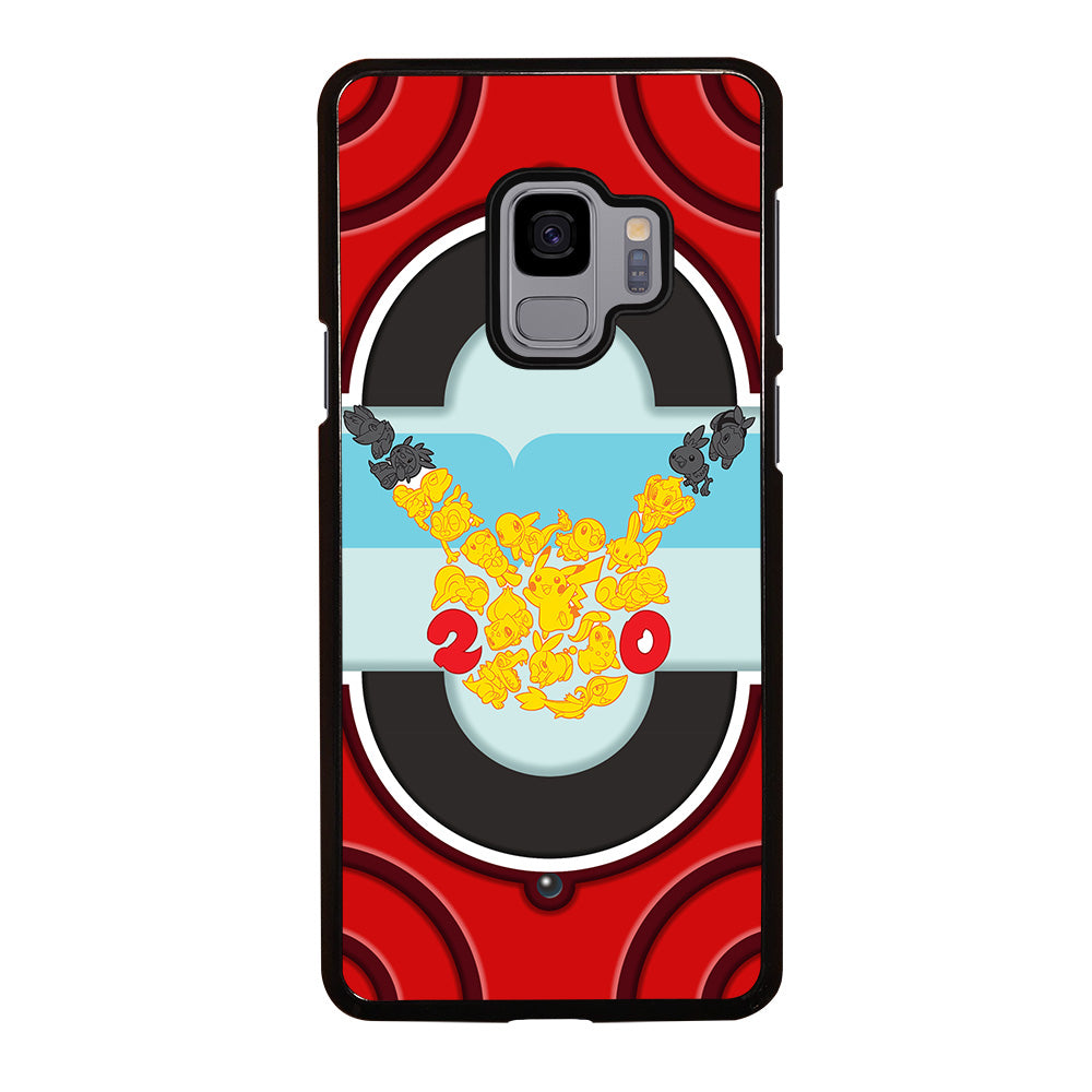 100% authentic c040a 93424 POKEMON TRAINER'S KALOS POKEDEX Samsung Galaxy S9 Case - Casefine