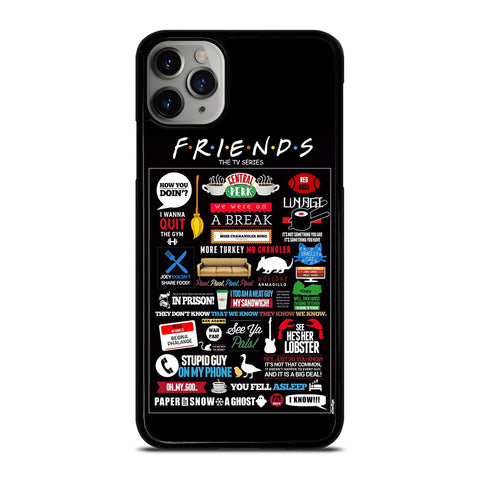 POSTERHOUZZ FRIENDS TV SHOW iPhone 6/6S 7 8 Plus X/XS XR 11 Pro Max Case - Best Custom Phone Cover Design