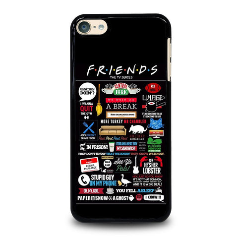 POSTERHOUZZ FRIENDS TV SHOW iPod Touch 4 5 6 Generation 4th 5th 6th Case - Best Custom iPod Cover Design