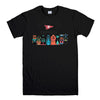 PRIMITIVE SKATEBOARD-mens-t-shirt-Black