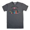 PRIMITIVE SKATEBOARD-mens-t-shirt-Charcoal
