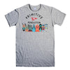 PRIMITIVE SKATEBOARD-mens-t-shirt-Gray
