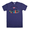 PRIMITIVE SKATEBOARD-mens-t-shirt-Purple