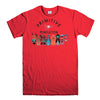 PRIMITIVE SKATEBOARD-mens-t-shirt-Red