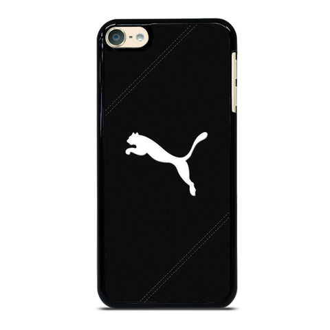 PUMA LOGO BLACK LEATHER iPod Touch 6 Case