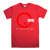 QUEENS OTSA-mens-t-shirt-Red
