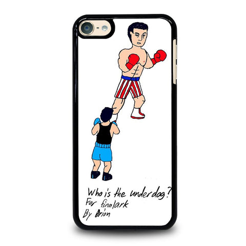 ROCKY BALBOA UNDERDOG iPod Touch 4 5 6 Generation 4th 5th 6th Case - Best Custom iPod Cover Design