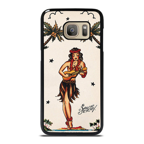 SAILOR JERRY S HULA GIRL 2 Samsung Galaxy S7 Case