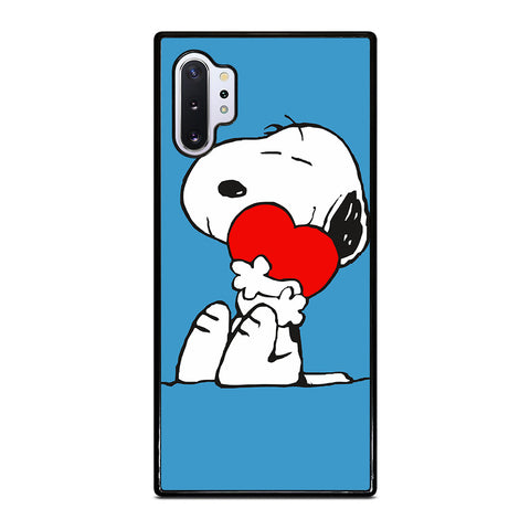 SNOOPY LOVE HEART Samsung Galaxy S3 S4 S5 S6 S7 S8 S9 Plus Edge Note 3 4 5 8 Case - Best Custom Phone Cover Design