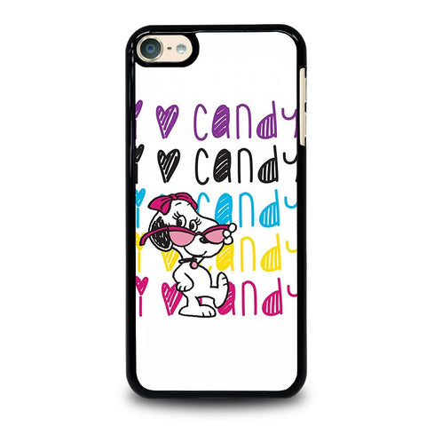 SNOOPY I LOVE CANDY iPod Touch 4 5 6 Generation 4th 5th 6th Case - Best Custom iPod Cover Design