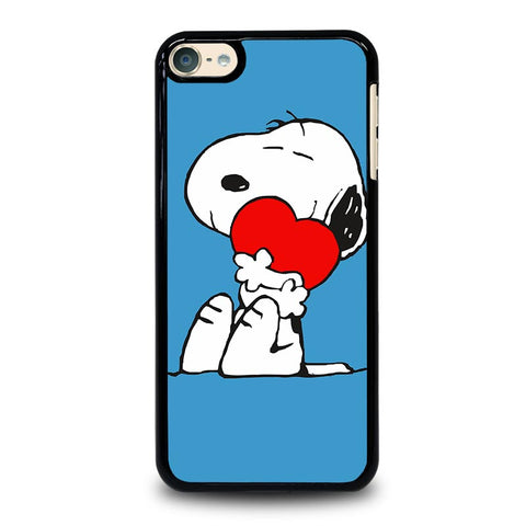 SNOOPY LOVE HEART iPod Touch 4 5 6 Generation 4th 5th 6th Case - Best Custom iPod Cover Design