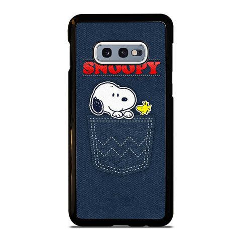 SNOOPY POCKET FRIEND Samsung Galaxy S10e Case