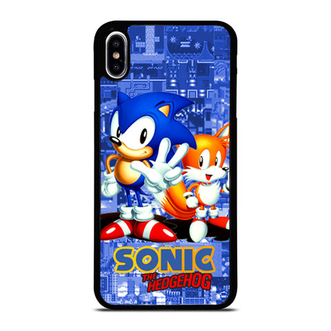 SONIC THE HEDGEHOG AND TAILS-iphone-xs-max-case