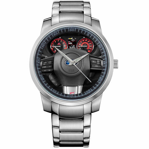 SUBARU STEERING WHEEL-metal-watch
