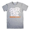 SUPERDRY LOGO-mens-t-shirt-Gray