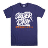SUPERDRY LOGO-mens-t-shirt-Purple