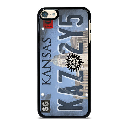 SUPERNATURAL LICENSE PLATE CUSTOM iPod Touch 4 5 6 Generation 4th 5th 6th Case - Best Custom iPod Cover Design