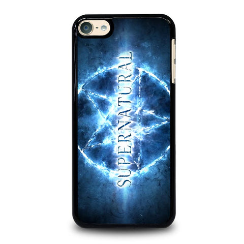 SUPERNATURAL STAR LOGO iPod Touch 4 5 6 Generation 4th 5th 6th Case - Best Custom iPod Cover Design