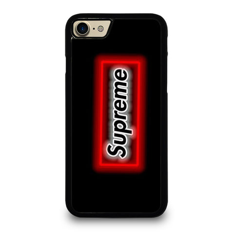 SUPREME LOGO NEON BOX Phone 7 Case