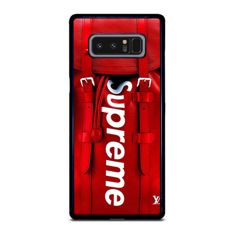 SUPREME RED BAG Samsung Galaxy Note 8 Case