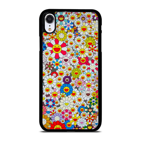 TAKASHI MURAKAMI FLOWERS-iphone-xr-case