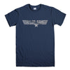 TAYLOR GANG-mens-t-shirt-Navy