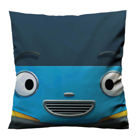 TAYO THE LITTLE BUS FACE 2 Cushion Case Cover