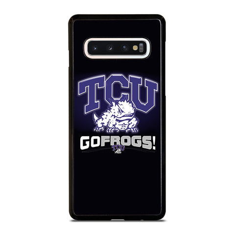 TCU HORNED FROGS COLLEGE Samsung Galaxy S10 Case