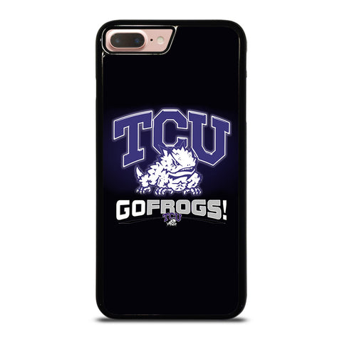 TCU HORNED FROGS COLLEGE iPhone 8 Plus Case