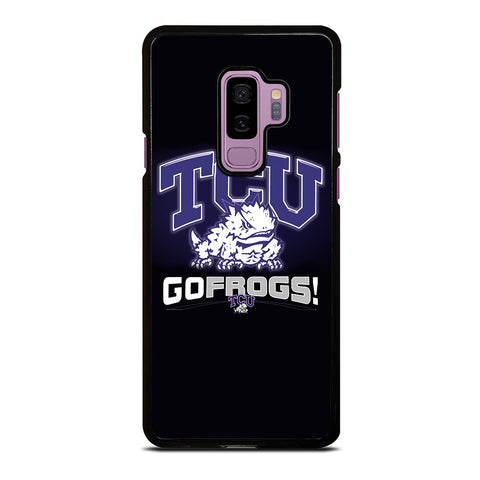 TCU HORNED FROGS COLLEGE Samsung Galaxy S9 Plus Case
