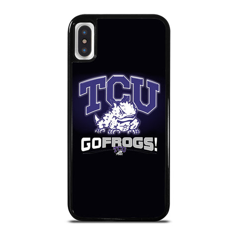 TCU HORNED FROGS COLLEGE iPhone X / XS Case